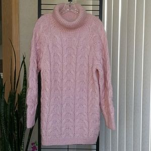 Just in! Handknit Mohair Oversized Tunic Sweater